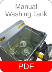 Manual Washing Tank
